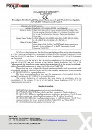 Declaration of Conformity for ambulance stretcher with Sarir & Feria_Page_1