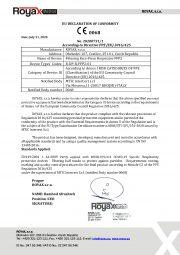 EU Declaration of Conformity -FFP2