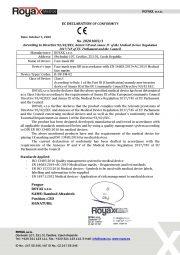 Declaration of Conformity-Face mask IIR