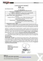 EU Declaration of Conformity -FFP2-English