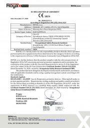 EU Declaration of Conformity -FFP3-English